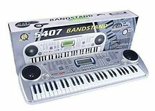 Bandstand Electronic Keyboard 54 Key Musical Piano With Microphone Model 5407