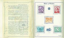 Brasil 1945 Allied Victory booklet with story in Chinese & stamps Imperforate