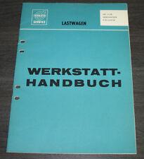 Werkstatthandbuch Volvo LKW Lastwagen Getriebe R 50 + R 60 Stand Januar 1967!