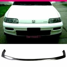 FIT FOR 88 89 90 91 HONDA CRX JDM STYLE FRONT BUMPER LIP PU