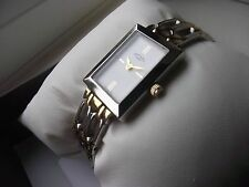 LADIES ROTARY TWO TONE BRACELET WATCH BOXED RRP £129