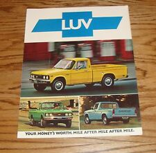 Original 1976 Chevrolet Truck LUV Sales Brochure 76 Chevy