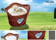 Wicker Basket Cats House,Two Storey Pet House,Dog Bed,Cat Bed,Pet bed/cushions