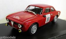 ProgettoK 1/43 Scale PK 2057 Alfa Romeo Giulietta GTA Rally Monte Carlo 1967