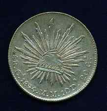 MEXICO  CHIHUAHUA MINT 1894-CaMM  8 REALES SILVER COIN, UNCIRCULATED