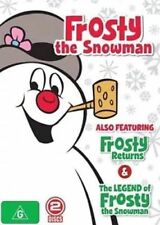CHRISTMAS CLASSICS: FROSTY The SNOWMAN / RETURNS / LEGEND... DVD 3-MOVIES NEW R4