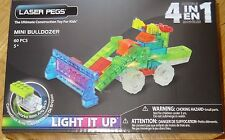 Mini Bulldozer Laser Pegs Lighted Construction Building Toy MPS700B
