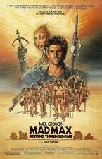 Mad Max movie poster print - Beyond Thunderdome, Mel Gibson, Tina Turner poster