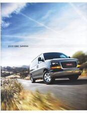 2010 10  GMC Savana  original sales  Brochure MINT
