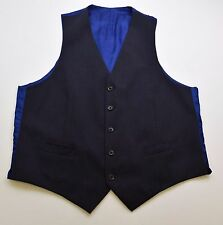 X188 LIMO VERRA AT SLATERS MEN'S WOOL BLEND  WAISTCOAT SIZE 44R