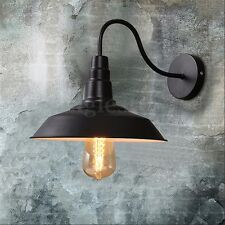 Vintage Industrial Wall Sconce Metal Retro Light Lamp Kitchen Bar Loft Garden