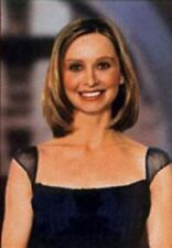 """MODEL POSTER~Calista Flockhart Ally McBeal 1990's Young 24x36"""" Print In Purple~"""