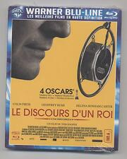 NEUF BLU RAY LE DISCOURS D UN ROI SOUS BLISTER 4 OSCARS Colin FIRTH /  RUSH