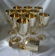 Moet & Chandon Golden Goblet (acrylic) poolside / hottub / picnic