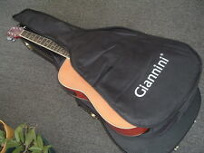 Giannini Spruce Top Acoustic Electric Dreadnought Guitar PLUS many Accessories