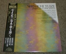 Shin-Ichi Yuize Plays His Concerto~RARE Japan Import~Obi~NM LP~Digital Recording