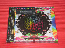 2015 COLDPLAY A HEAD FULL OF DREAMS with Bonus Track DIE CUT SLIP CASE JAPAN CD
