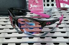 New Oakley 24-330 COMMIT SQ Breast Cancer Sunglasses Black Pink w / G30 Iridium