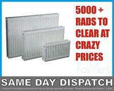 New Compact Convector White Panel Radiator - Single - Type 11 - 400 x 500mm