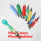 Plastic Mini Air Pillow Colors Inflator Hand Air Pump For Balloons Inflatable