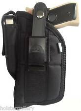 """Nylon Side Gun Holster fits Beretta PX4 with laser 4"""" barrel use L or R hand"""