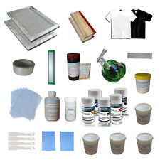 Simple Screen Printing Material Fundamental Kit for Starter DIY Hobby Low Cost