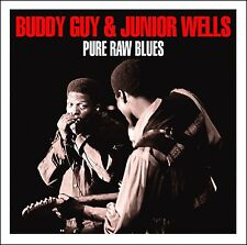 Buddy Guy & Junior Wells PURE RAW BLUES Best Of 40 Track Collection NEW 2 CD