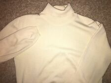 Brooks Brothers ITALY MADE 100% Merino Wool Women's Turtle Neck Sweater  Medium