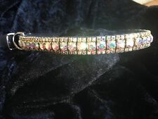Gorgeous Preciosa Crystal Dog Collar Made To Order SPARKLE BLING!!