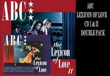 ABC THE LEXICON OF LOVE & THE LEXICON OF LOVE II CD - 2 Album Set