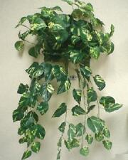 "POTHOS Leaves Hanging Bush 25"" Artificial Silk Plant Greenery 576KA"