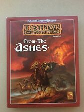 From the Ashes Greyhawk Adventures Dungeons & Dragons TSR 1064 NM
