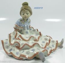 Lladro # 5391 ~ A TIME TO REST ~ Spanish Dancer Resting   BUY 1 GET 1 50% OFF