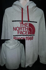 THE NORTH FACE Mens Sweatshirt Hoodie Jacket Size XL-TG Gray Cotton MINT