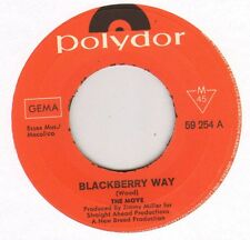 """THE MOVE """"BLACKBERRY WAY"""" 60'S SP POLYDOR 59254"""