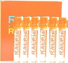 Lot Of 6 Pces Ralph Rocks by Ralph Lauren for Women 0.03 oz EDT Vial Splash New