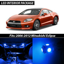 2006-2012 Mitsubishi Eclipse Blue Interior LED Lights Package Kit