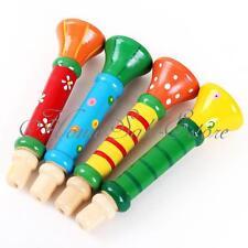 Jouet trompette en bois pour bébé enfant musique musical instrument trumpet toy