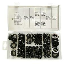 180x Rubber Grommets Kits Plug Wire Ring Assortment Electrical Gasket Hot Sale!