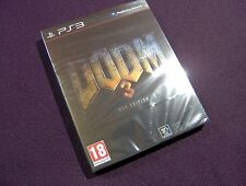 PLAYSTATION PS3 -Doom 3 BFG- HARD SLEEVE EDITION PAL SPAIN ESPAÑA NEW SEALED