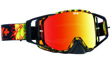 NEW SPY ACE MX GOGGLES CACTI CAMO WITH CURVED RED SPECTRA LENS & CLEAR MOTOCROSS