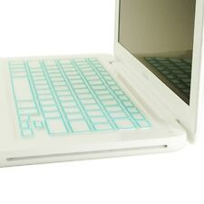 New Arrival! LIGHT BLUE Silicone Keyboard Cover for OLD Macbook White A1181