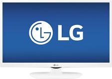 """Open-Box: LG - 24"""" Class (23.8"""" Diag.) - LED - 1080p - Smart - HDTV - White"""