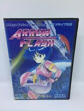 ARROW FLASH COMPLETO SEGA MEGADRIVE JAPAN JPN