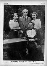 Geh.Hofrat Ernst Edler von Schuch ( kgl.Hoftheater Dresden) und Familie c.1912