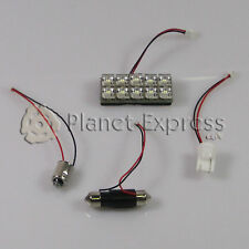 Panel 10 LED C5W Festoon T10 BA9S Maletero, Habitaculo, Interior... Blanco Xenon