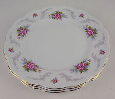 3 x DINNER PLATES Royal Albert TRANQUILLITY tranquility Vintage England