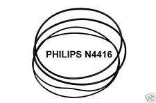 Set correa Philips n4416 tonbandmaschine n-4416 extra strong fabrickfrisch nuevo