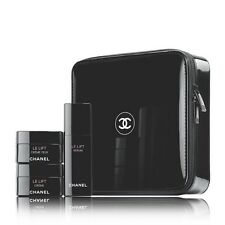 AUTH CHANEL BLACK SQUARE MAKEUP COSMETIC JEWELRY BAG BOX NEW