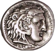 GREECE ALEXANDER III TETRADRACHM COIN HERCULES HERAKLES MEMPHIS ZEUS GIFT PERCY